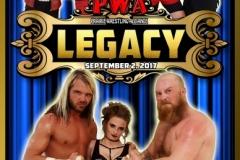 WPA Wrestling Sept 2 Legacy Poster 2017
